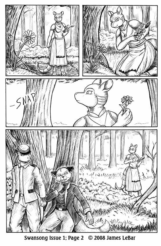 Swansong Issue 1, Page 2